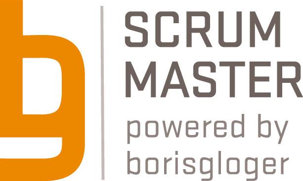 Scrum-Master-Logo der borisgloger consulting GmbH