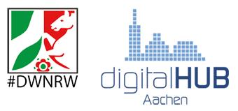 Logo des digitalHUB Aachen e.V.