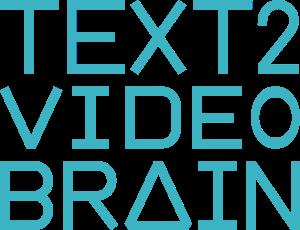 Logo des Video-Tools TEXT2VIDEObrain